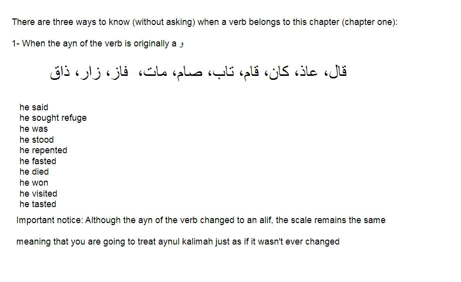 Establishing The Principles: Arabic